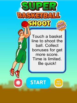 SUPER BASKETBALL SHOOT apk screenshot