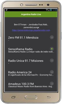 Argentina Radio Live poster