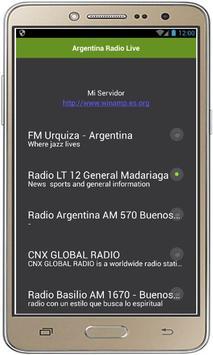 Argentina Radio Live apk screenshot