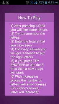 Word Memory Game screenshot 3