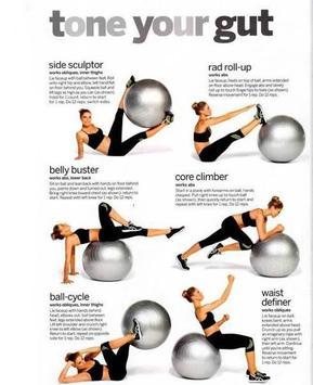 Abdominal Exercises Tutorial poster