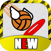 Flappy Basket Dunk Contest : Bouncy Basketball icon