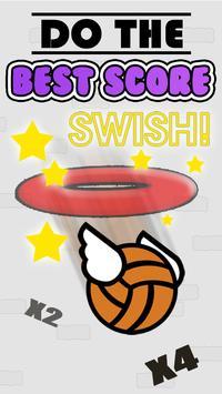 Flappy Basket Dunk Contest : Bouncy Basketball screenshot 3