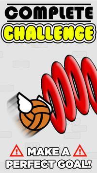 Flappy Basket Dunk Contest : Bouncy Basketball screenshot 1