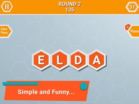 Word Honeycomb screenshot 5