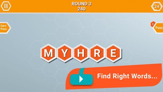 Word Honeycomb screenshot 2