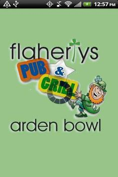 Flaherty's Arden Bowl poster