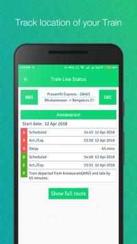 Train Running Status Live apk screenshot