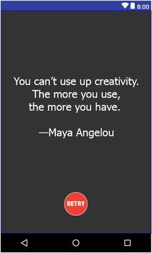 Random Inspirational Quotes poster