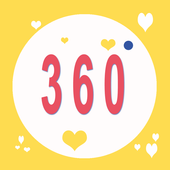 Selfie 360 Stickers icon
