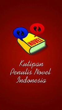 Kutipan Novel (Quotes) poster