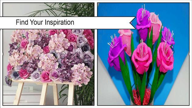 DIY Rose Flower bouquet poster