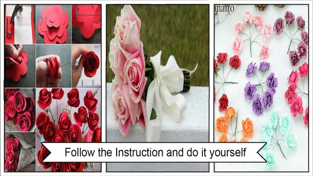 DIY Rose Flower bouquet apk screenshot