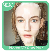 Modern DIY Sheet Mask icon