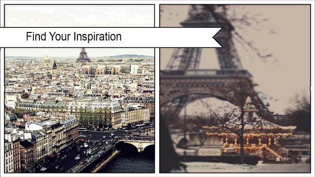 Rainy Paris Live Wallpaper poster