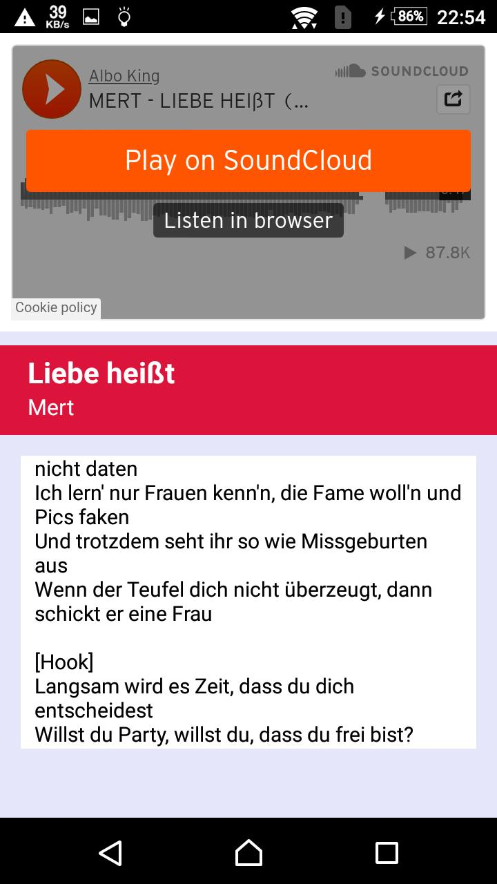Mert On Liebe Heisst For Android Apk Download