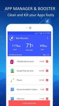 Ram Booster Pro 2018-Ram Cleaner,Cleaner,Speed apk screenshot