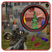 Quick Bottle Shooter 3D icon
