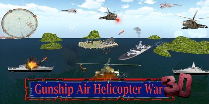 Gunship Helicopter Battle 3D poster