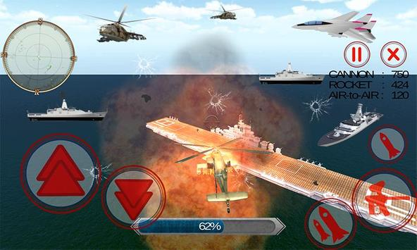 Gunship Helicopter Battle 3D apk screenshot