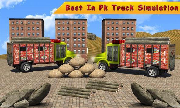 Pak Hill Truck Driver 3D Simulator apk screenshot