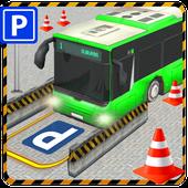 City Bus Parking 3D Simulator icon