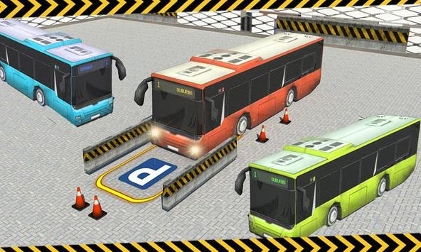 City Bus Parking 3D Simulator poster