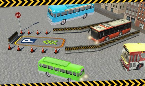 City Bus Parking 3D Simulator screenshot 2