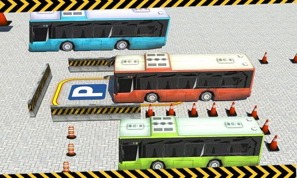 City Bus Parking 3D Simulator apk screenshot