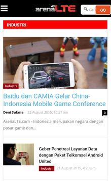 Arena LTE screenshot 8