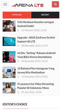 Arena LTE screenshot 2