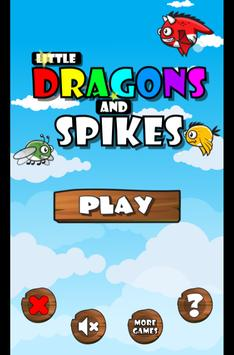 Little Dragons and Spikes poster