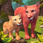 Mountain Lion Family Sim icon