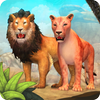 Lion Family Sim Online ikona