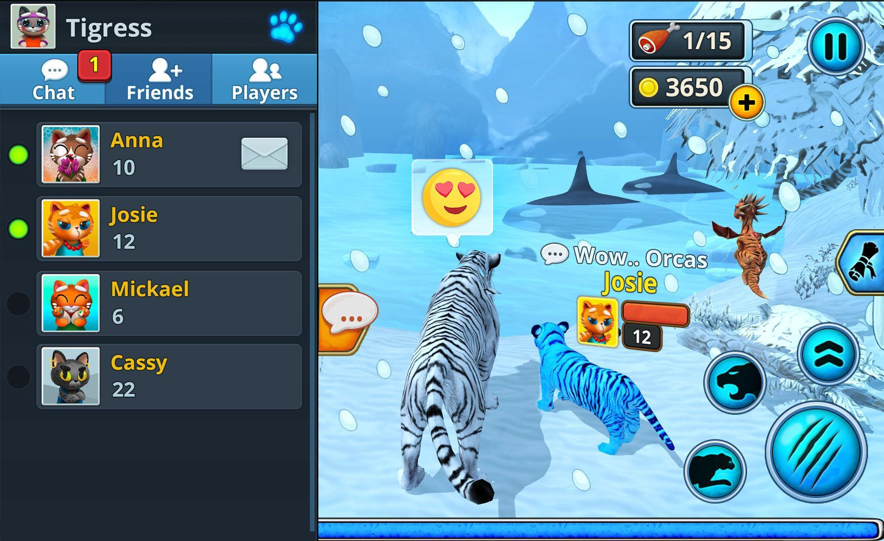 White Tiger Family Sim Online for Android - APK Download