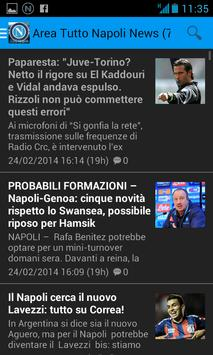 Area Tutto Napoli Calcio screenshot 4