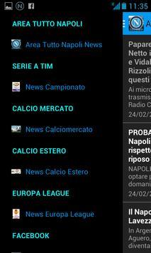 Area Tutto Napoli Calcio poster