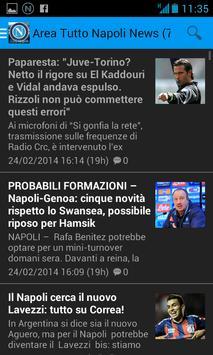 Area Tutto Napoli Calcio screenshot 3