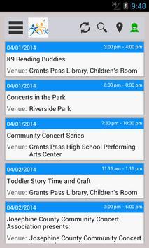 Area Events apk screenshot