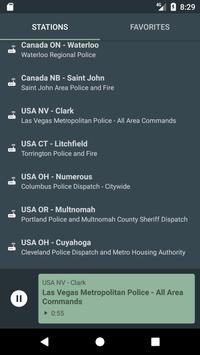USA POLICE 🚨 RADIO SCANNER poster