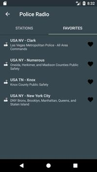 USA POLICE 🚨 RADIO SCANNER apk screenshot
