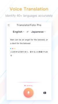 Translator Foto Pro - Free Voice & Photo Translate screenshot 1