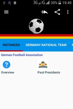 Football in Germany poster