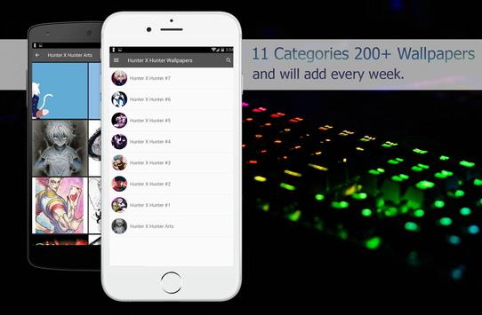 Hunter X Wallpapers HD 4K screenshot 1