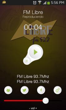 FM Libre 93.7 poster