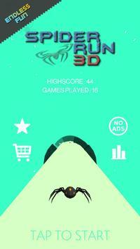 Endless Spider Run 3D poster