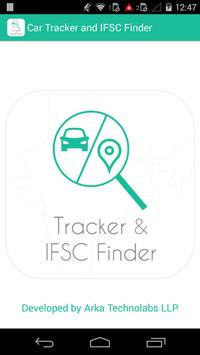Car Tracker and IFSC Finder poster