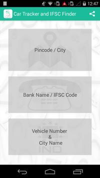 Car Tracker and IFSC Finder screenshot 1