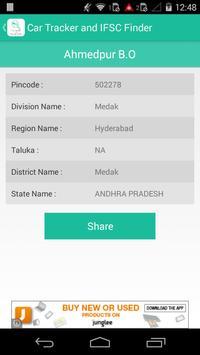 Car Tracker and IFSC Finder screenshot 4
