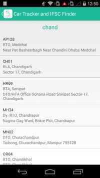 Car Tracker and IFSC Finder screenshot 6